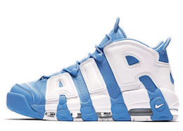 Air More Uptempo University Blueの写真