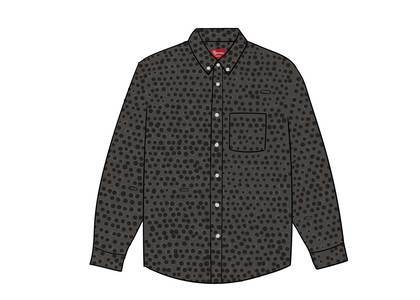 Supreme Monogram Shirt Blackの写真