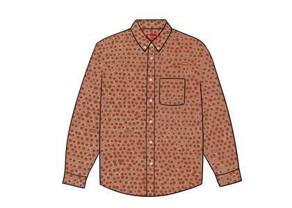 Supreme Monogram Shirt Dark Orangeの写真