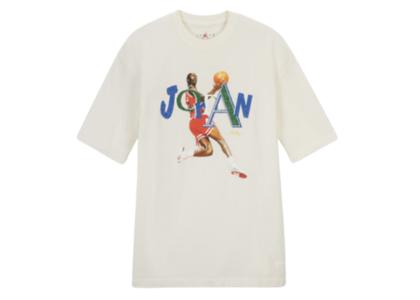 Aleali May × Nike Jordan Tee Whiteの写真