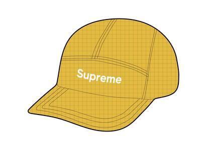Supreme 2-Tone Ripstop Camp Cap Yellow (SS21)の写真