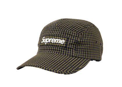 Supreme 2-Tone Ripstop Camp Cap Black (SS21)の写真