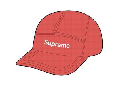 Supreme 2-Tone Ripstop Camp Cap Red (SS21)の写真