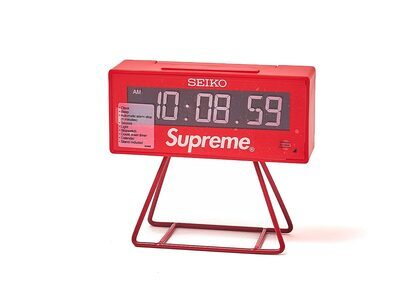 Supreme Seiko Marathon Clock Red (SS21)の写真