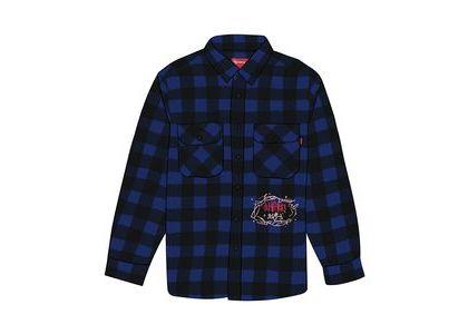 Supreme 1-800 Buffalo Plaid Shirt Royalの写真