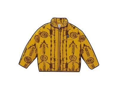 Supreme SOUTH2 WEST8 Fleece Jacket Yellow (SS21)の写真