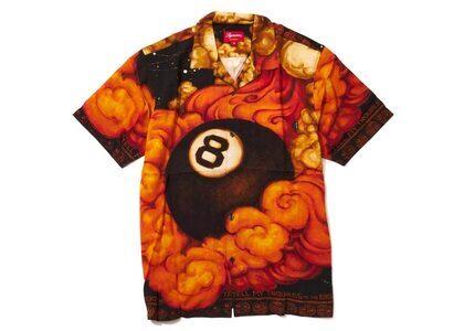Supreme Martin Wong 8-Ball Rayon S/S Shirt Multicolorの写真