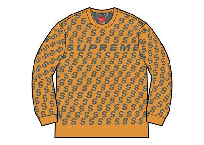 Supreme S Repeat Sweater Yellow (SS21)の写真