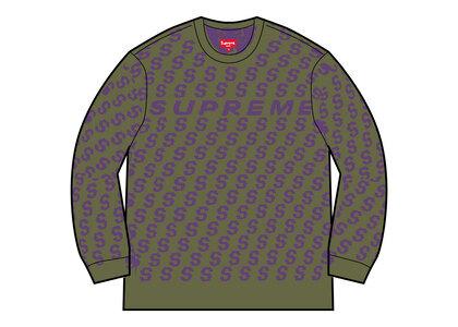 Supreme S Repeat Sweater Green (SS21)の写真