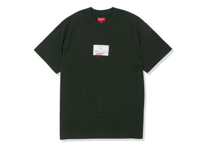 Supreme Signature Label S/S Top Green (SS21)の写真