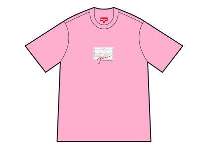 Supreme Signature Label S/S Top Pink (SS21)の写真