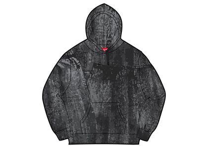 Supreme Brush Stroke Hooded Sweatshirt Black (SS21)の写真