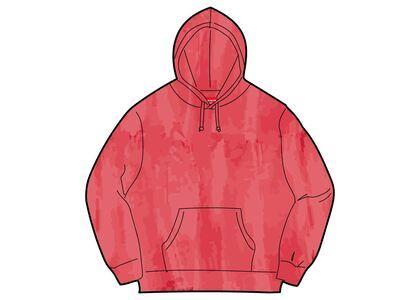 Supreme Brush Stroke Hooded Sweatshirt Red (SS21)の写真