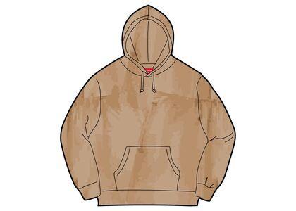 Supreme Brush Stroke Hooded Sweatshirt Brown (SS21)の写真