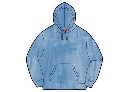 Supreme Brush Stroke Hooded Sweatshirt Blue (SS21)の写真
