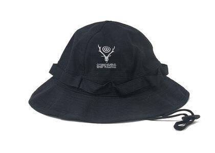 Supreme SOUTH2 WEST8 Jungle Hat Black (SS21)の写真