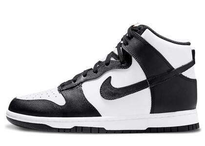 Nike Dunk High Black White Womensの写真