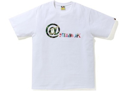 Bape Punctuation 1 Tee White (SS21)の写真