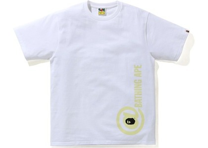 Bape Punctuation 2 Tee White (SS21)の写真