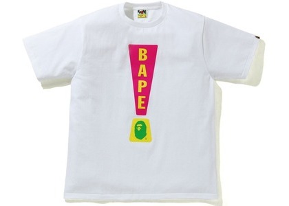 Bape Punctuation 4 Tee White (SS21)の写真