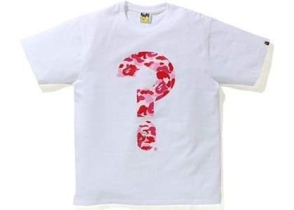 Bape Punctuation 5 Tee White (SS21)の写真