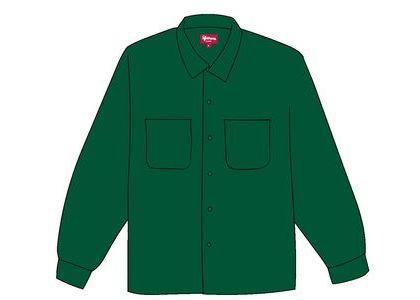 Supreme Corduroy Shirt (FW19) Tealの写真