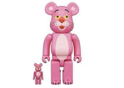 Pink Panther × Be@rbrick  100% & 400%の写真