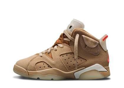 Travis Scott × Nike Air Jordan 6 British Khaki PSの写真