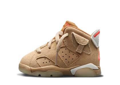 Travis Scott × Nike Air Jordan 6 British Khaki TDの写真