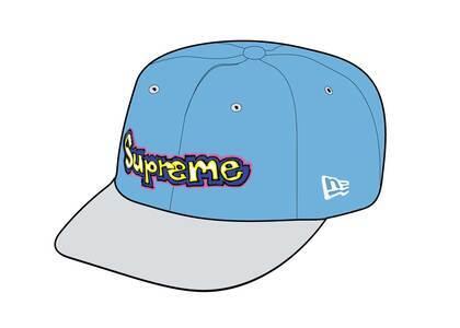 Supreme Gonz Logo New Era Blue (SS21)の写真