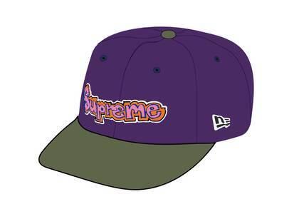 Supreme Gonz Logo New Era Purple (SS21)の写真