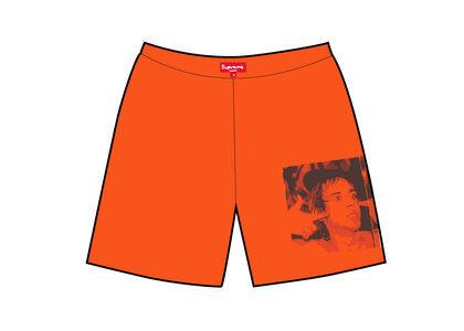 Supreme Iggy Pop Work Short Orange (SS21)の写真