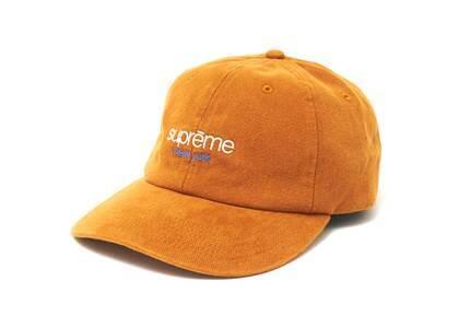 Supreme Classic Logo 6-Panel Orange (SS21)の写真