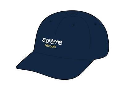 Supreme Classic Logo 6-Panel Navy (SS21)の写真