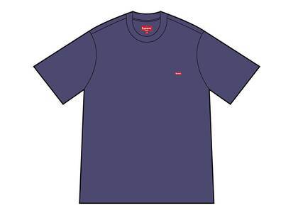 Supreme Small Box Tee washed navy (SS21)の写真
