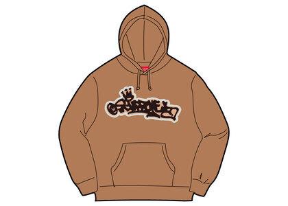 Supreme Handstyle Hooded Sweatshirt Beige (SS21)の写真