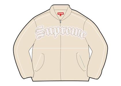 Supreme Twill Old English Varsity Jacket Natural (SS21)の写真