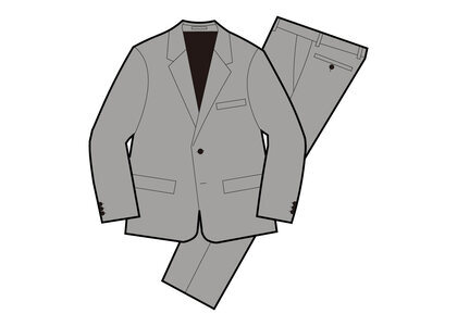Supreme Wool Suit Gray (SS21)の写真
