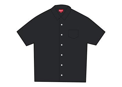 Supreme Iggy Pop S/S Shirt Black (SS21)の写真