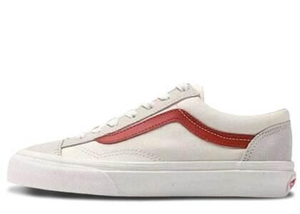 Vans Old Skool Cream Redの写真