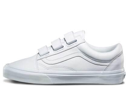 Vans Old Skool Velcro True Whiteの写真