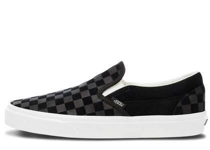 Vans Slip-On Checkerboard Black Greyの写真