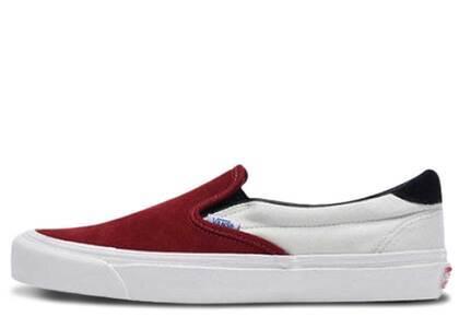 Vans Slip-On Red Dahliaの写真