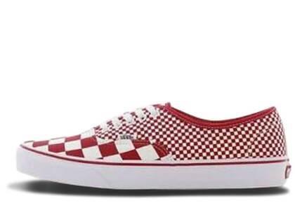 Vans Authentic Mix Checker Redの写真