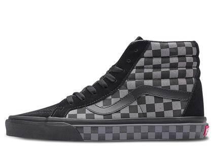 Vans Sk8-Hi Checkerboard Black Pewterの写真