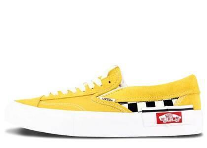 Vans Slip-On Cap Checkerboard Yolk Yellowの写真