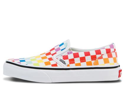 Vans Slip-On Rainbow Checkerboardの写真