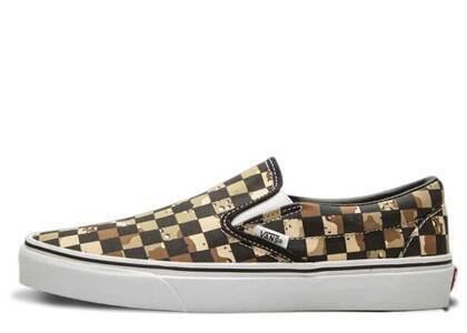 Vans Classic Slip-On Checkerboard Camo Desertの写真