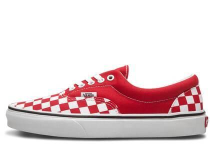 Vans Era Checkerboard Racing Redの写真