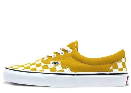 Vans Era Checkerboard Yellowの写真